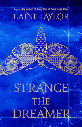 Image: Strange the Dreamer Book Cover