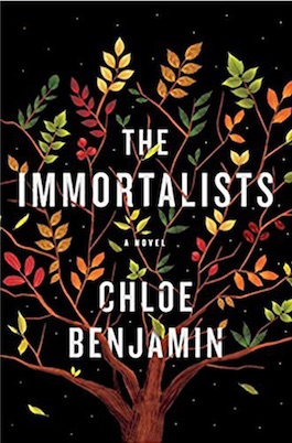 Image: The Immortalists Book Cover