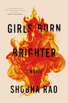 book cover of Girls Burn Brighter