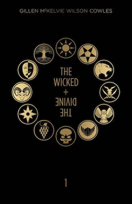 book cover of The Wicked + the Divine