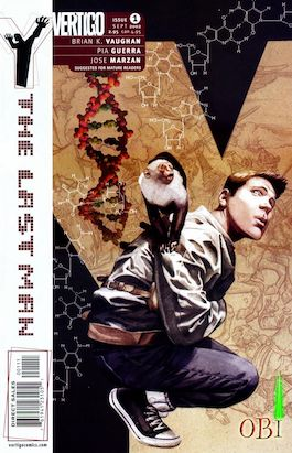 book cover of Y: The Last Man